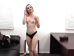 Casting xxx videos - girl gets naked